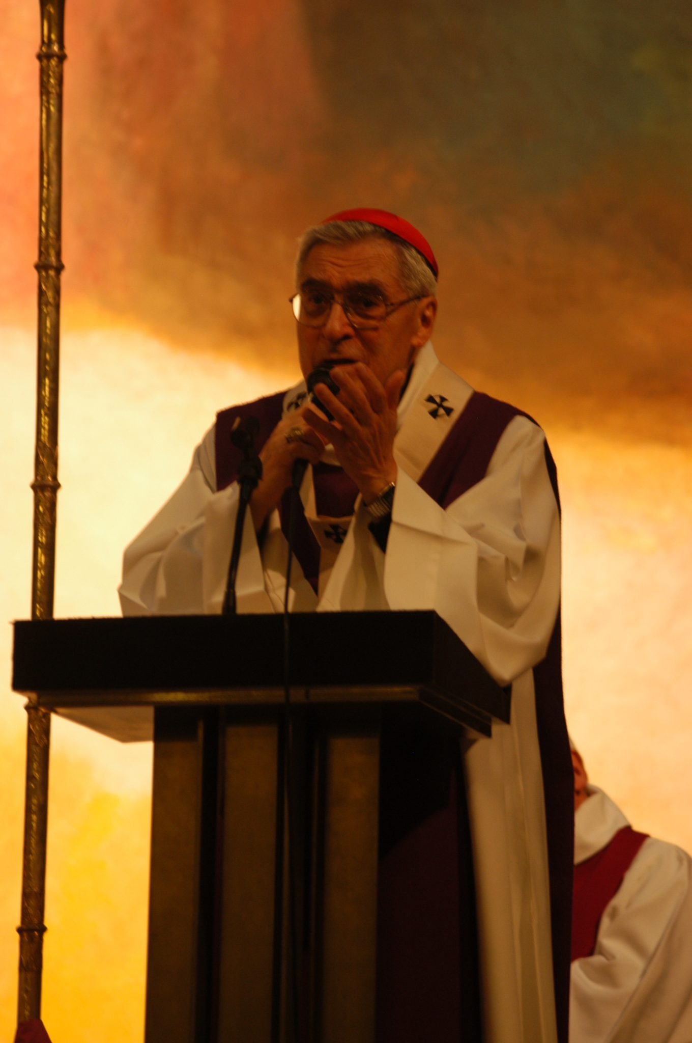 Cardinal Lustiger devant La rencontre