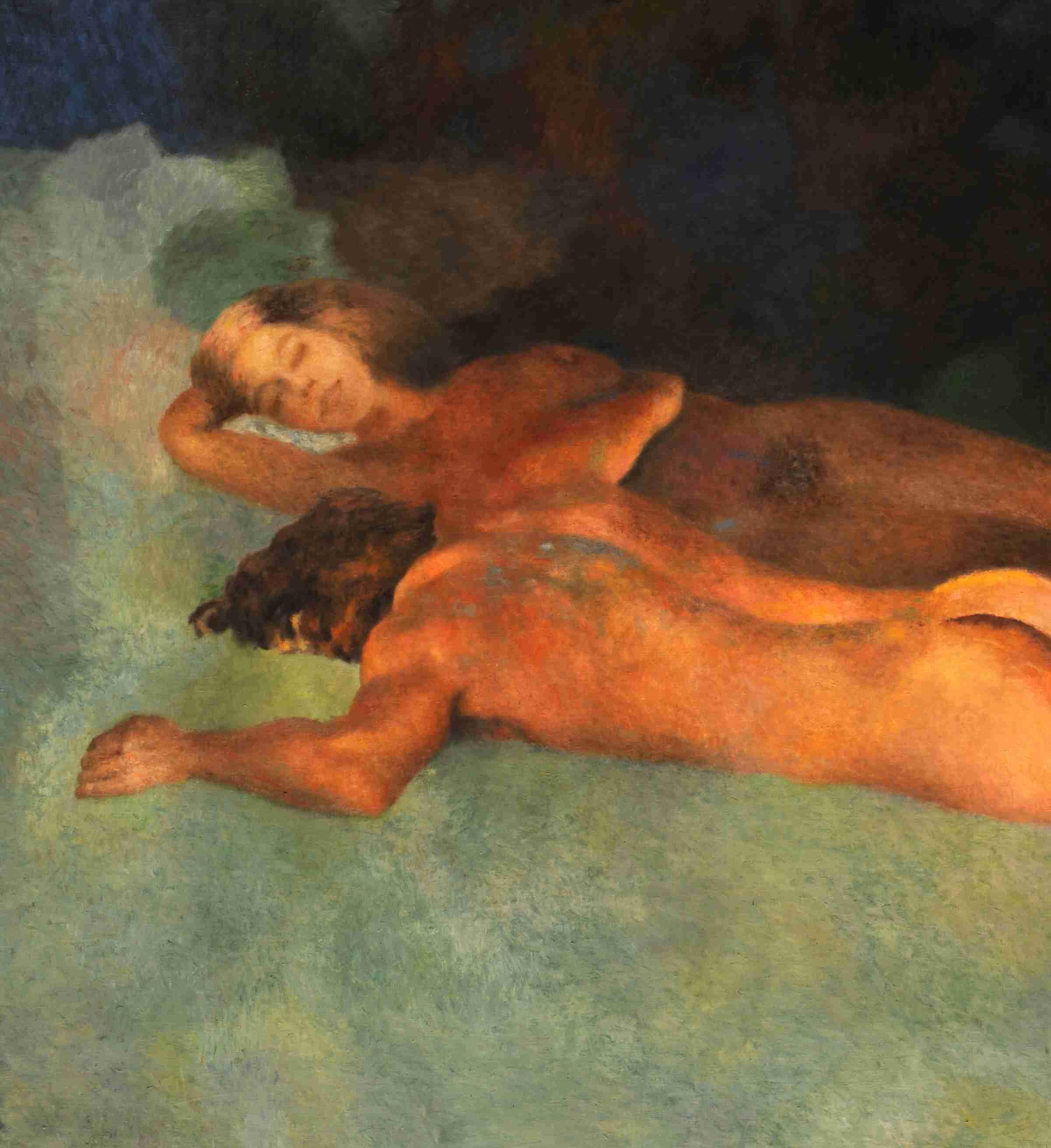 Le couple endormi